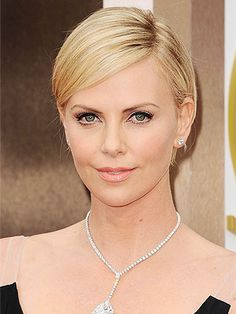 You'll Never Guess Who Inspired Charlize Theron's Oscars Makeup!
