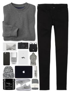 """Untitled #899"" by akp123 ❤ liked on Polyvore featuring Uniqlo, Polaroid, Black Apple, Nails Inc., Proenza Schouler, Universal Lighting and Decor, Topshop, L:A Bruket, Falke and philosophy"