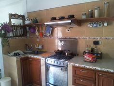 La cocina grande