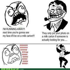 Troll dad..
