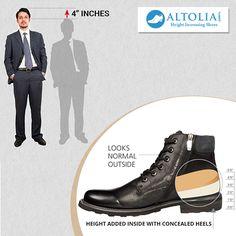 50+ Height Increasing Elevator Shoes