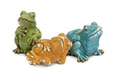 Garza Casual Frogs - Set of 3 25089-3