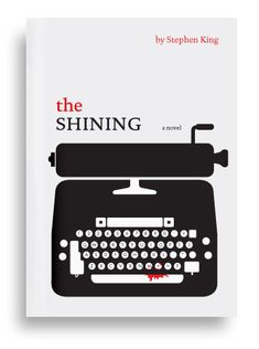 The Shining by Stephen King (I read this while camping, years ago, and just about scared myself to death)