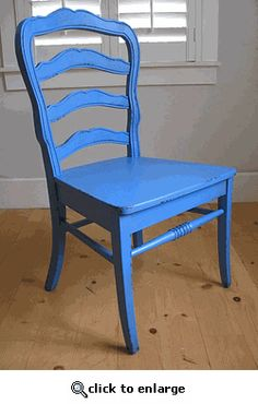 Bradshaw Kirchofer Furniture French Ladderback Chair in Multiple Color Options