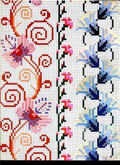 Cross Stitch Floss, Cross Stitch Borders, Cross Stitch Charts, Cross Stitch Designs, Cross Stitching, Cross Stitch Embroidery, Cross Stitch Patterns, Needlepoint Patterns, Peyote Patterns