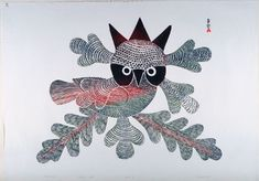 Ashevak is perhaps the best-known Inuit artist because of her famous print The Enchanted Owl (1960), which was featured on a Canada Post stamp. She was also the first woman to become involved with the newly established printmaking shop at Cape Dorset.