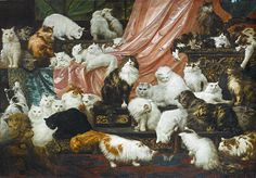 Gigantic Cat Painting Sells at Auction for $826,000!