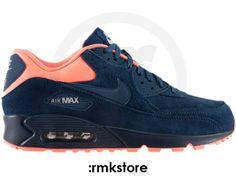 Nike Air Max 90 Premium Brave Blue Atomic Pink (333888-446) - RMKstore