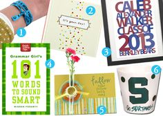 20 Great Gifts Ideas For Grads | www.catchingfireflies.com