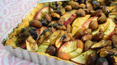 Omenapiirakka kuuluu syksyyn. Tällä ohjeella ei voi mennä pieleen. Sprouts, Chicken, Meat, Vegetables, Vegetable Recipes, Veggies, Cubs