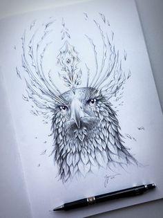 Souls of Nature JoJoes Art Découvrez les magnifiques illustrations de Jojoes. Des dessins réalisés sur le thème des animaux. Je ne sais pas quoi vous dire