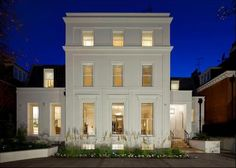 Detached house for sale in Avenue Road, St John& Wood, London - - Architecture Design, Classic Architecture, Beautiful Architecture, John Wood, Georgian Homes, Good House, Art Deco, Classic House, Modern Classic