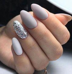 58 Best Stunning Grey Short Nails 💅 Design (acrylic Nails, Matte Nails) You May Love 💕 Grey Nail 16 💖 𝙄𝙛 𝙔𝙤𝙪 𝙇𝙞𝙠𝙚, 𝙅𝙪𝙨𝙩 𝙁𝙤𝙡𝙡𝙤𝙬 𝙐𝙨 💖💅 acrylicnails 💖 mattenails 💖 nailsdesign 💖 nailsideas 💖 nailsart 💖 nails 💖 greysho Almond Acrylic Nails, Acrylic Nail Art, Acrylic Nail Designs, Nail Art Designs, Nails Design, Orange Nail Designs, Short Nail Designs, Manicure, Nagel Gel