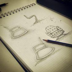 Furniture Sketch #furniture #sketch #chair #armchair #industrialdesign  #design #industrial #designer #drawing #draw | Design | Pinterest