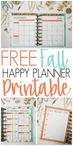 Most current Snap Shots happy planner printable Concepts Are you currently ready to begin with with printable planner inserts? If you're new to printables