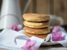 Savory Pancakes, Sweet Recipes, Hamburger, Food And Drink, Bread, Breakfast, Morning Coffee, Savory Crepes, Brot