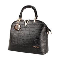 XYH PU Leather Womens Shoulder Bags Top-Handle Handbag Tote Purse Bag -- Read more @