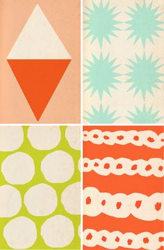Pattern Lovin' - cool color and pattern ideas for quilts!