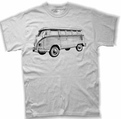 I must have! XL please  Etsy listing at https://www.etsy.com/listing/65095310/volkswagen-bus-drawing-t-shirt-available