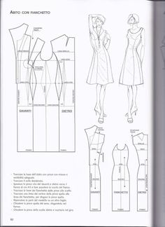 Pattern: Dress with Flank