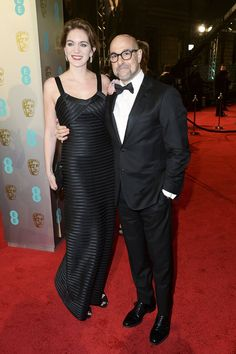 Pin for Later: See All the Stars on the BAFTA Film Awards Red Carpet Felicity Blunt and Stanley Tucci