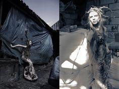 https://www.facebook.com/FirmaAnnomalia  fot.Marcin Twardowski model: Aleksandra Henryka Daczkowska stylizacja: Adriana Boś i Anna Młynarczyk Annomalia projekt i wykonanie sukienki: Annomalia Anna Młynarczyk
