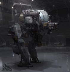 Concept Art World » Mech Concept Designs by John Park