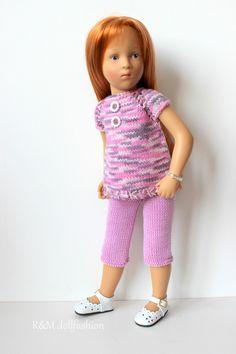 "R&M DOLLFASHION - OOAK handknit outfit for KISH SASHA NATTERER 16""-17"" dolls | eBay"