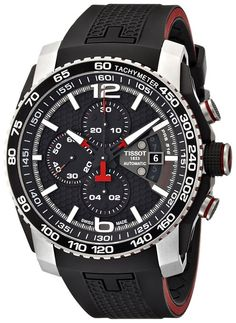 Now available Tissot Men's PRS 516 Stainless Steel Automatic Watch with Black Rubber Band Muy probable Mens Watches For Sale, Best Watches For Men, Cool Watches, Men's Watches, Wrist Watches, Best Watch Brands, Luxury Watch Brands, Tissot Mens Watch, Men Watch