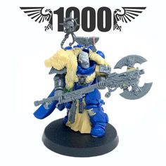 """TBD on Instagram: """"Wow, a thousand followers, I'm so glad and thankful that you guys are showing your interest in my hobby. Thanks a lot! I rarely post WIP…"""" Mein Hobby, Deathwatch, Warhammer Models, War Dogs, Space Wolves, Warhammer 40k Miniatures, Warhammer 40000, Space Marine, Smurfs"""