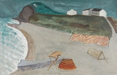 I especially like this painting, how soft and fresh-looking I am posting more work by American Modern artist , Milton Avery, b. Mark Rothko, Henri Matisse, Klimt, Hampton Artwork, Collages, American Modern, Portraits, Fishing Villages, Modern Artists