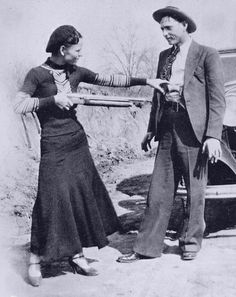 Bonnie And Clyde joking | Flickr - Photo Sharing!