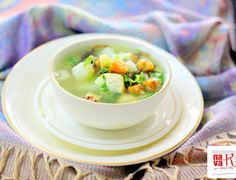 nava-k: Salted Fish And Vegetable Soup