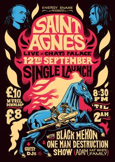 Saint Agnes Poster by Ian Jepson                                                                                                                                                     More