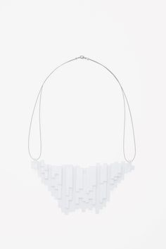 COS   Plastic pendant necklace.  Plastic Fantastic.
