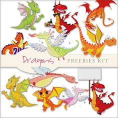 Scrap. DOT: November 2011 Freebies Dragons Kit