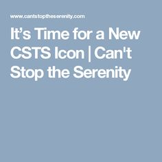 It's Time for a New CSTS Icon Enter today! Details in Link