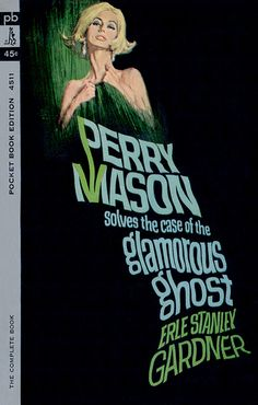 The Case of the Glamorous Ghost by Erle Stanley Gardner #crime #perrymason