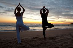 Easy, restful yoga series for relieving work-related tension, stress, and pain.