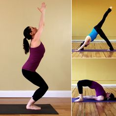 A Yoga Sequence For a Tighter Backside - H Fitness Fitness Diet, Yoga Fitness, Fitness Motivation, Yoga Sequences, Yoga Poses, Fitness Photos, Yoga Flow, Get In Shape, Excercise