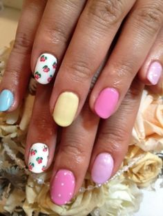 Nail-Art-Summer-2012-New-Designs  Pastels