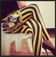 Community: 25 Gifts Hufflepuffs Will Find Particularly Enchanting Harry Potter Outfits, Harry Potter Hogwarts, Yoga Fashion, Teen Fashion, Hufflepuff Pride, Hufflepuff Bedroom, Marvel Inspired Outfits, Pride Outfit, Black Milk Clothing