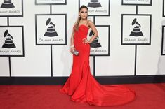 Ariana Grande attends The 58th GRAMMY Awards