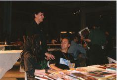 H.I.U 7° edizione Milano 18, 19, 20 Maggio 2001 Leoncavallo Nella foto Alexander Zograf e Igor Prassel