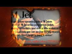 Meet upcoming author, M Jet!  Please repin and stalk her in every conceivable Internet location!  *muah*