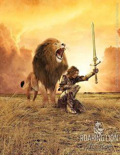 Spiritual Warrior, Prayer Warrior, Spiritual Warfare, Lion Pictures, Jesus Pictures, Guerrero Tattoo, Spiritual Pictures, Gods Princess, Youversion Bible