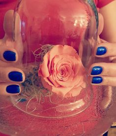 """At the end of the day, when it comes down to it, the only question that remains is """"Do you really believe in magic?"""" 💫💫💫 #nailporn by Miha @ibibliotheque ❤❤❤ #ido #magic #nails #nailsoftheday #nailpolish #beautyandthebeast #rose #energiipozitive #goodvibes #goodvibesonly #instaglam"""