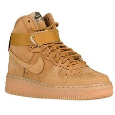 "The Nike Air Force 1 High s in ""Wheat"" are now available in GS at cf39bef8e98b8"