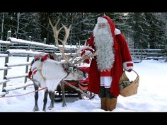 Santatelevision video: Santa Claus Village in Rovaniemi in Lapland in / ULTRA HD - Arctic Circle Finland travel film