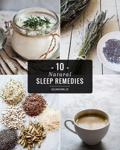10 Natural Sleep Remedies for Your Best Sleep Ever.  Includes recipe for a sleep-promoting smoothie.